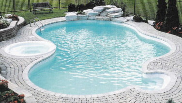 Deer Creek Inground Swimming Pool Kit With Spa Royal