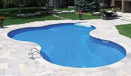 Lagoon inground pool kits royal swimming pools for Pool decals for concrete pools