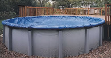 32 Winter Cover For 27 28 Round Pool 8 Yr Navy Royal
