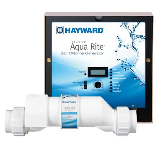 How to read and adjust the hayward aqua rite scg operational.