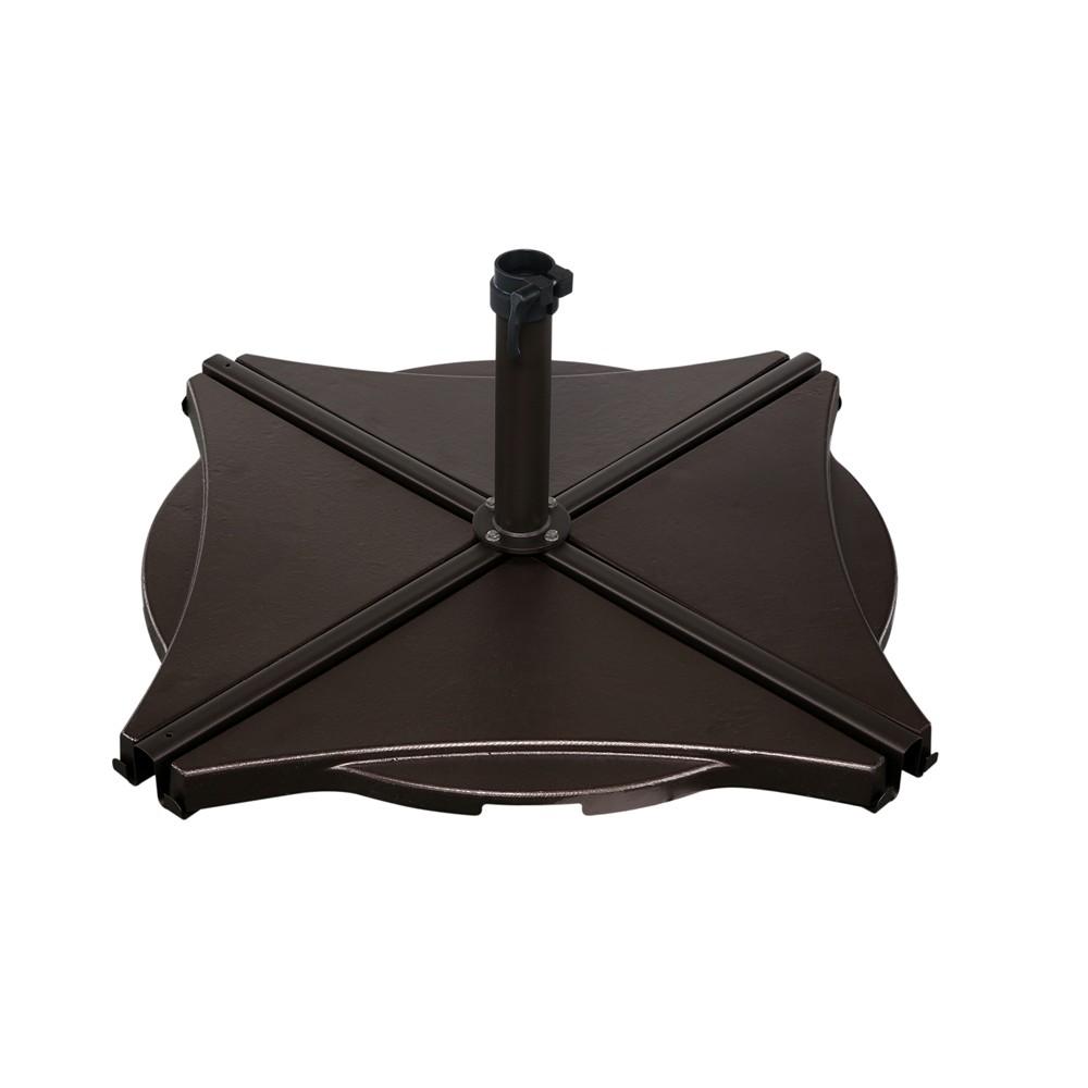 Attractive Bronze Base Weights For Cross Base Umbrella