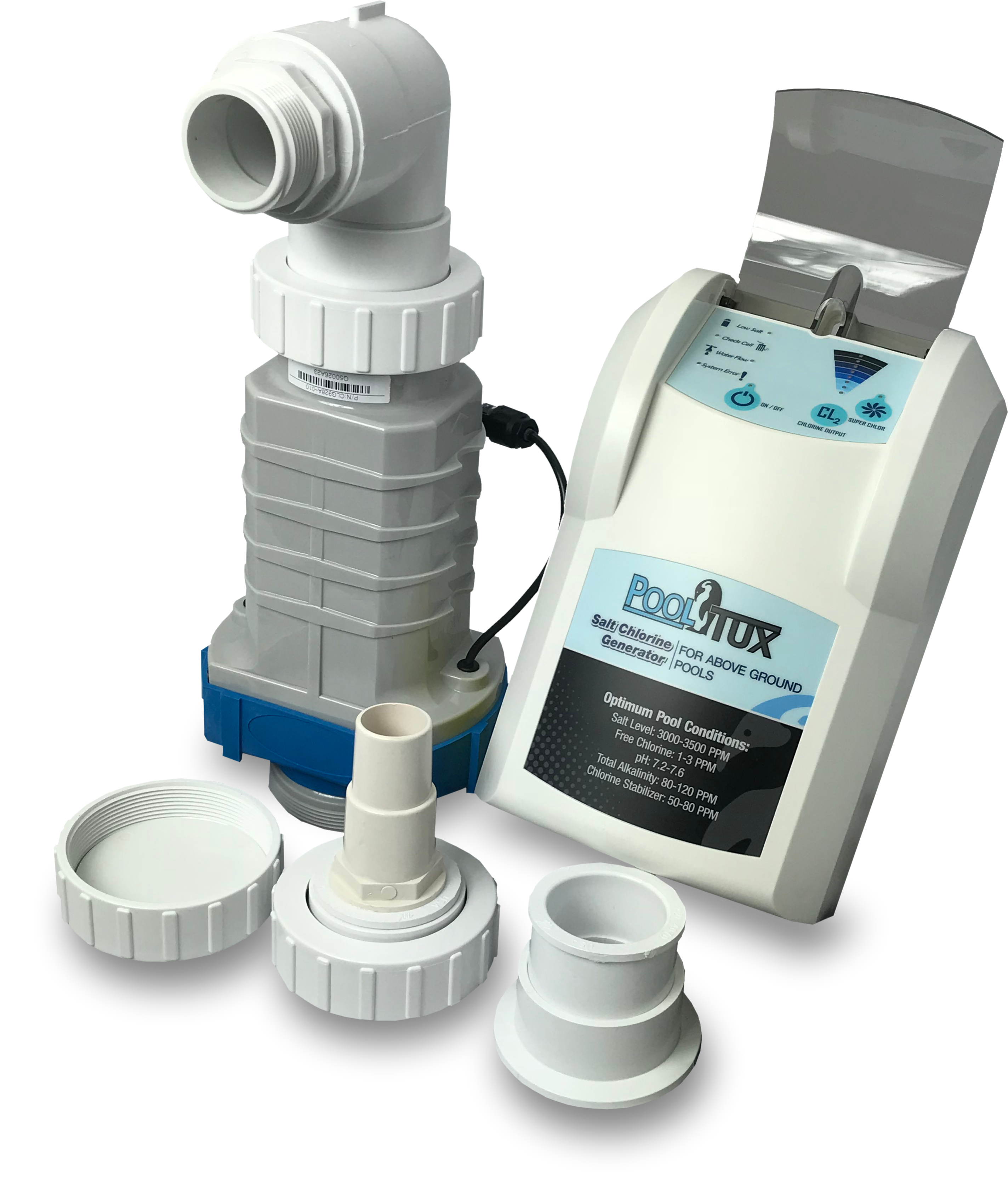 Pooltux 28k Gallon Salt Chlorine Generator For Above