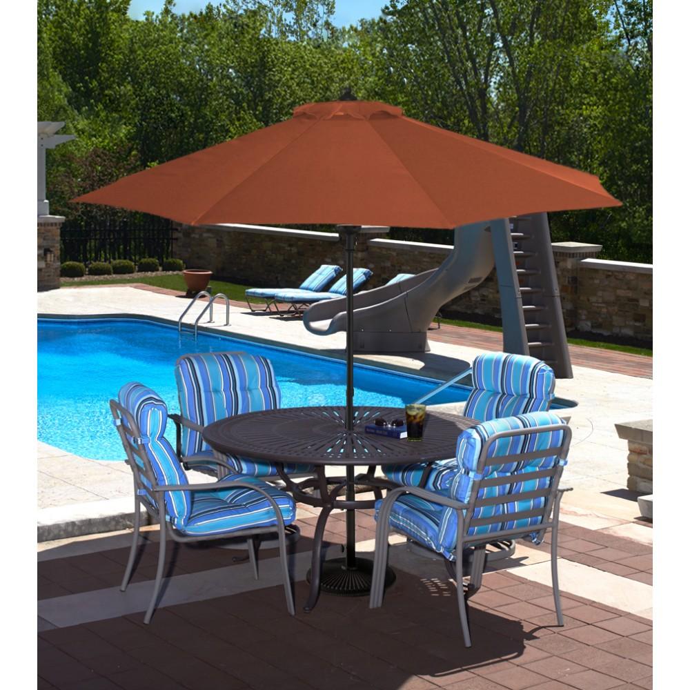 market umbrellas | royal swimming pools 9 Ft Umbrella with Stand