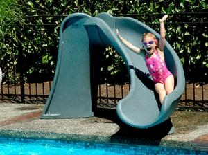Inground Pool Slides | Royal Swimming Pools