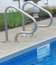 Figure 4 Grab Rails set of 2 Royal Swimming Pools