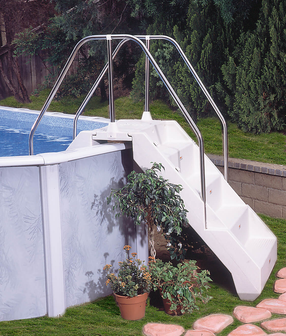 Lomart Complete Advantage Step Royal Swimming Pools