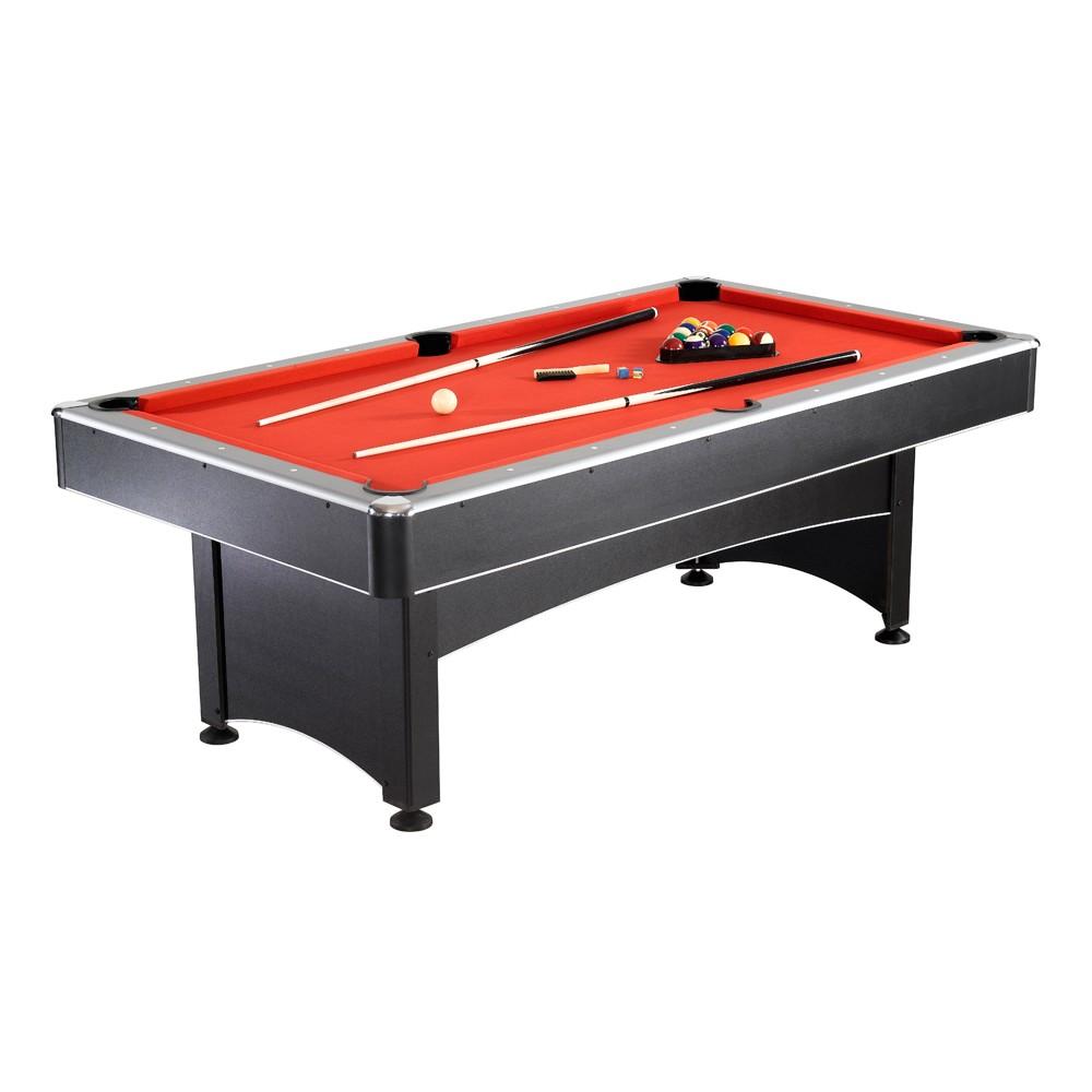 Maverick 7u0027 Pool Table W/Table Tennis