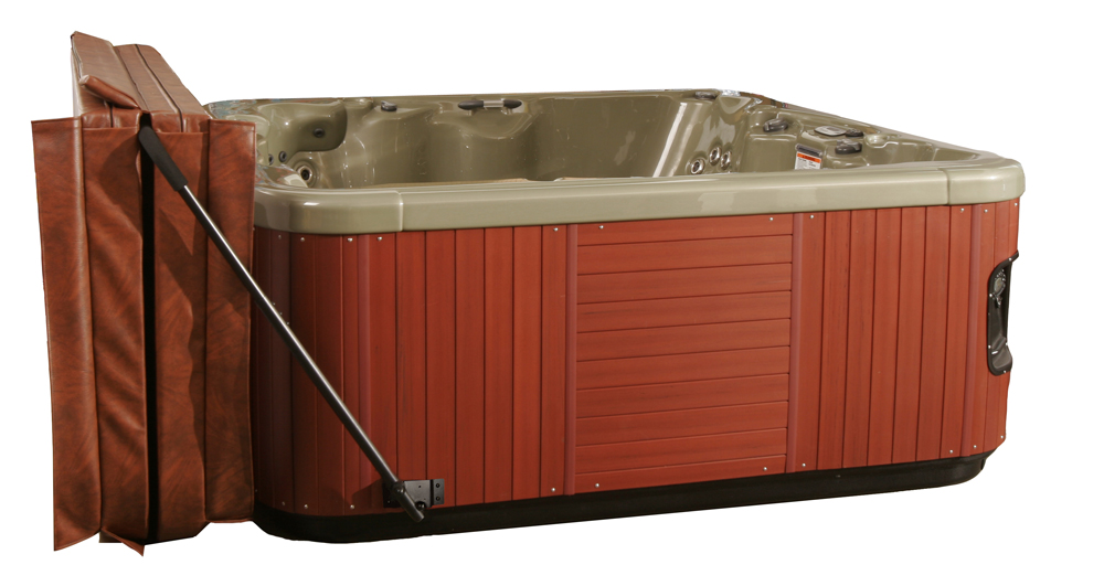 Low Mount Spa Cover Lift Royal Swimming Pools
