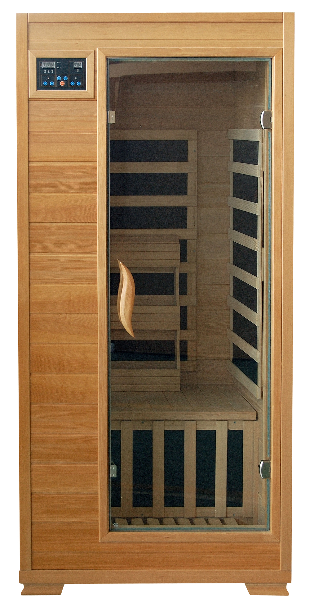 buena vista hemlock 1 person carbon sauna royal swimming pools. Black Bedroom Furniture Sets. Home Design Ideas