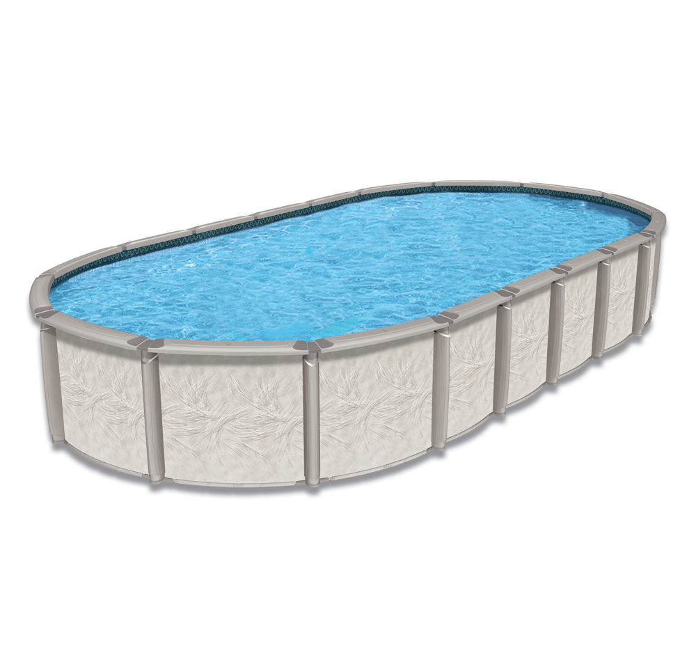 15 39 x 30 39 oval 54 saltwater ultimate royal swimming pools for Swimming pool poker