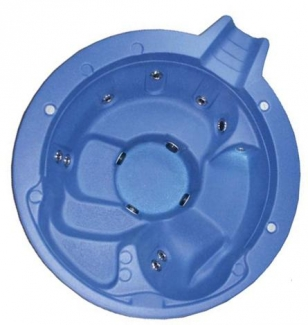 "Inground Pools 88"" spill-over spa for inground pools 