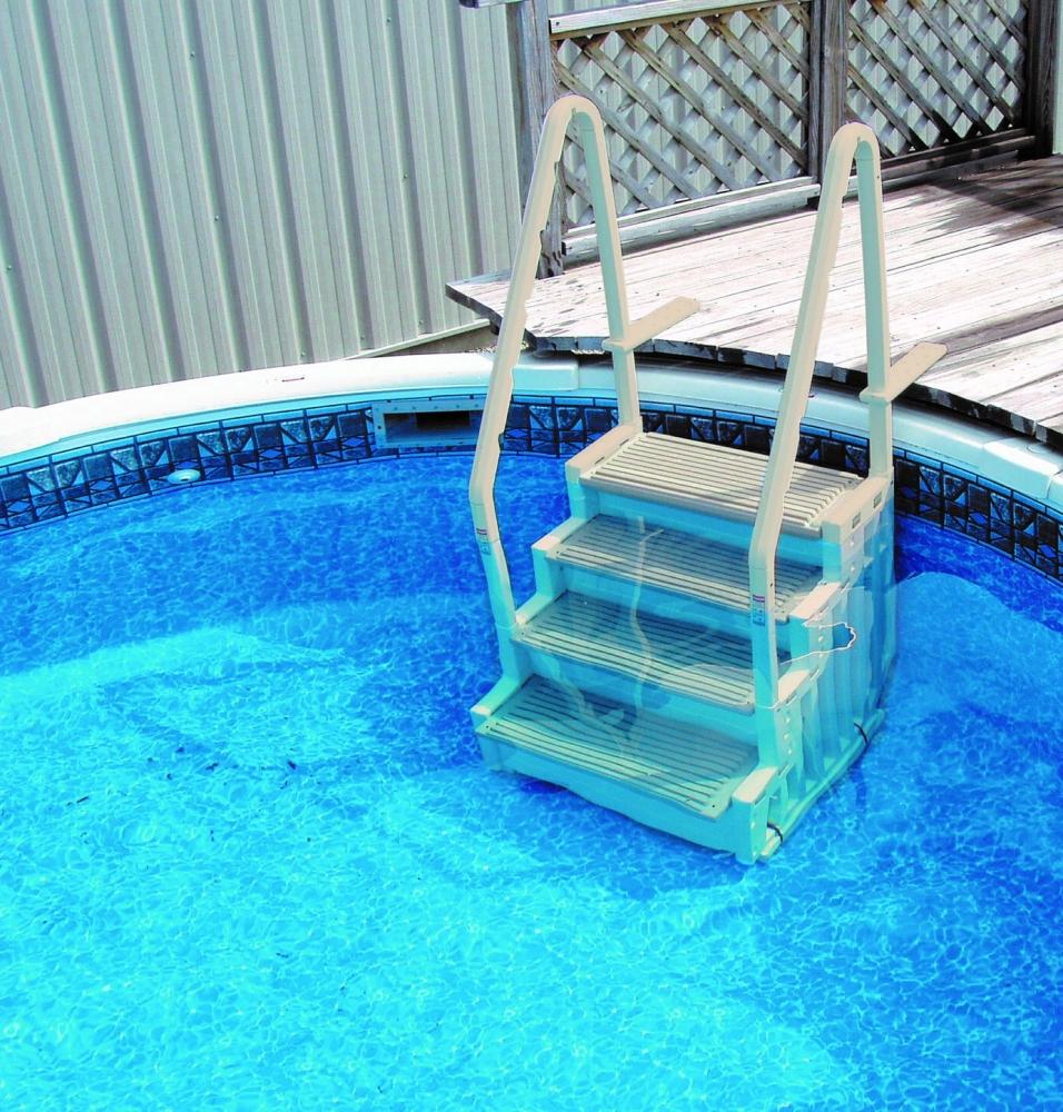 Confer Step-1 Aboveground Pool Step | Royal Swimming Pools