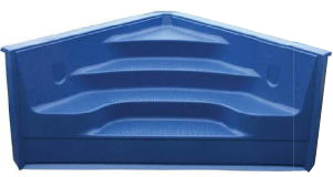 6 Quot Radius In Pool Corner Step For 42 Quot Wall Pools Royal