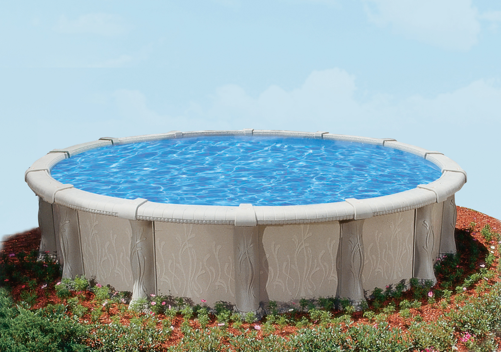 24 39 Round 52 Embassy Saltwater Valencia By H I I Mfg Of Doughboy Royal Swimming Pools