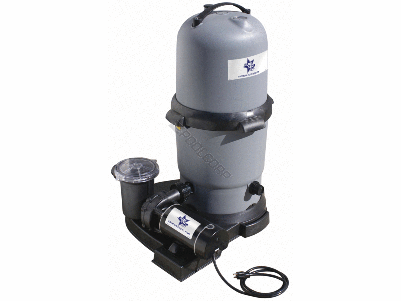 Swimming Pool Filter Systems : Above ground pool complete filter systems cartridge