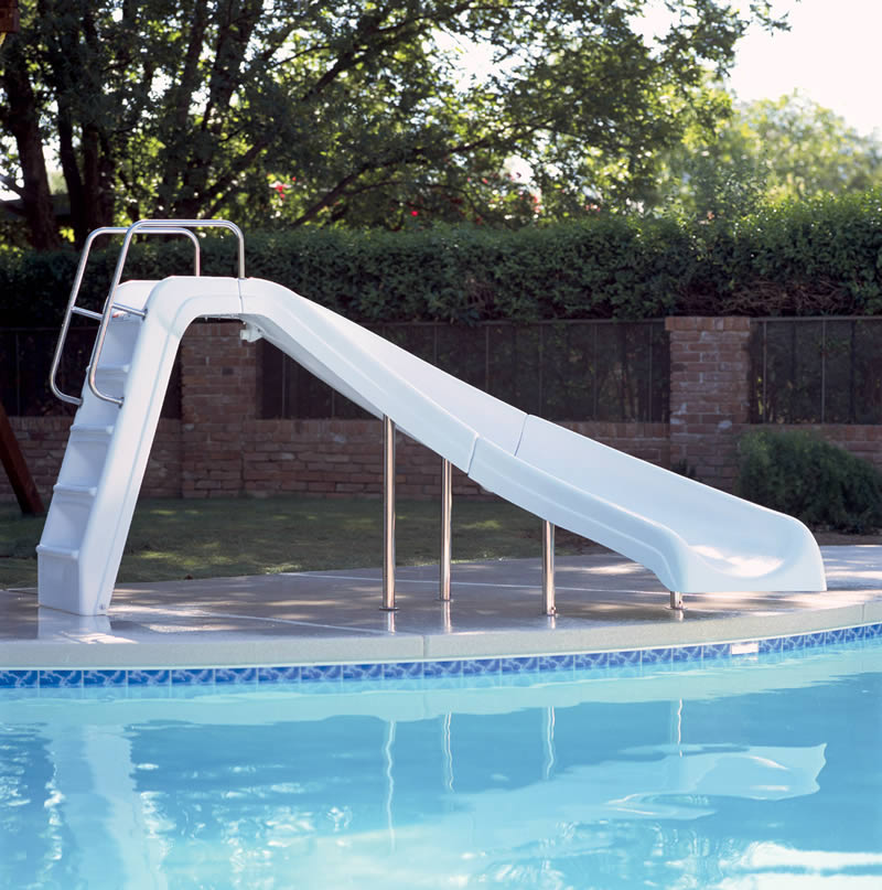in ground pools with slides. Beautiful Ground Interfab White Water Pool Slide To In Ground Pools With Slides D