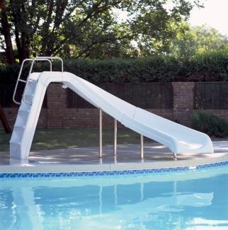 234684d58c54 Inter-fab White Water Pool Slide