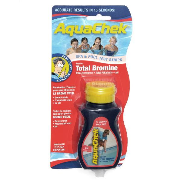 Aqua chek bromine test strips