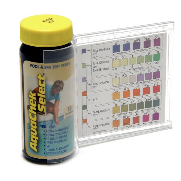 Aqua Chek Select 7 In 1 Test Kit 50 Ct