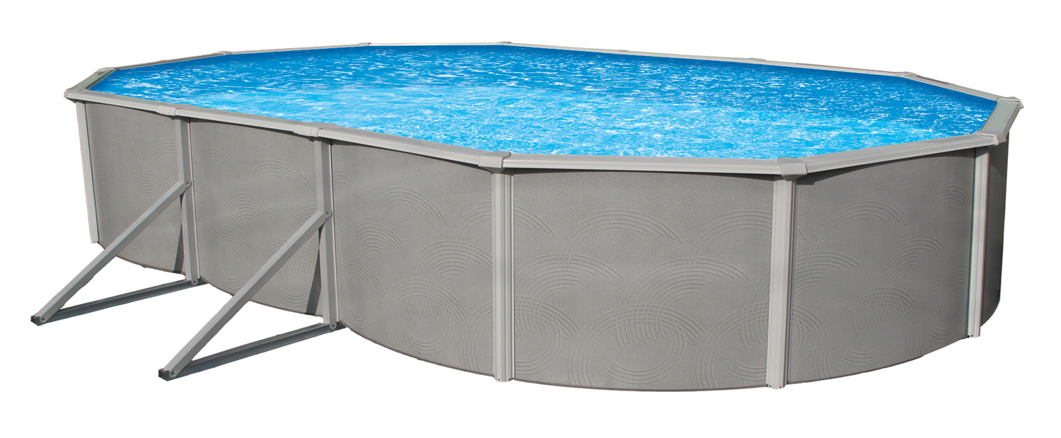 15 39 x 30 39 oval above ground pools royal swimming pools for Oval swimming pool