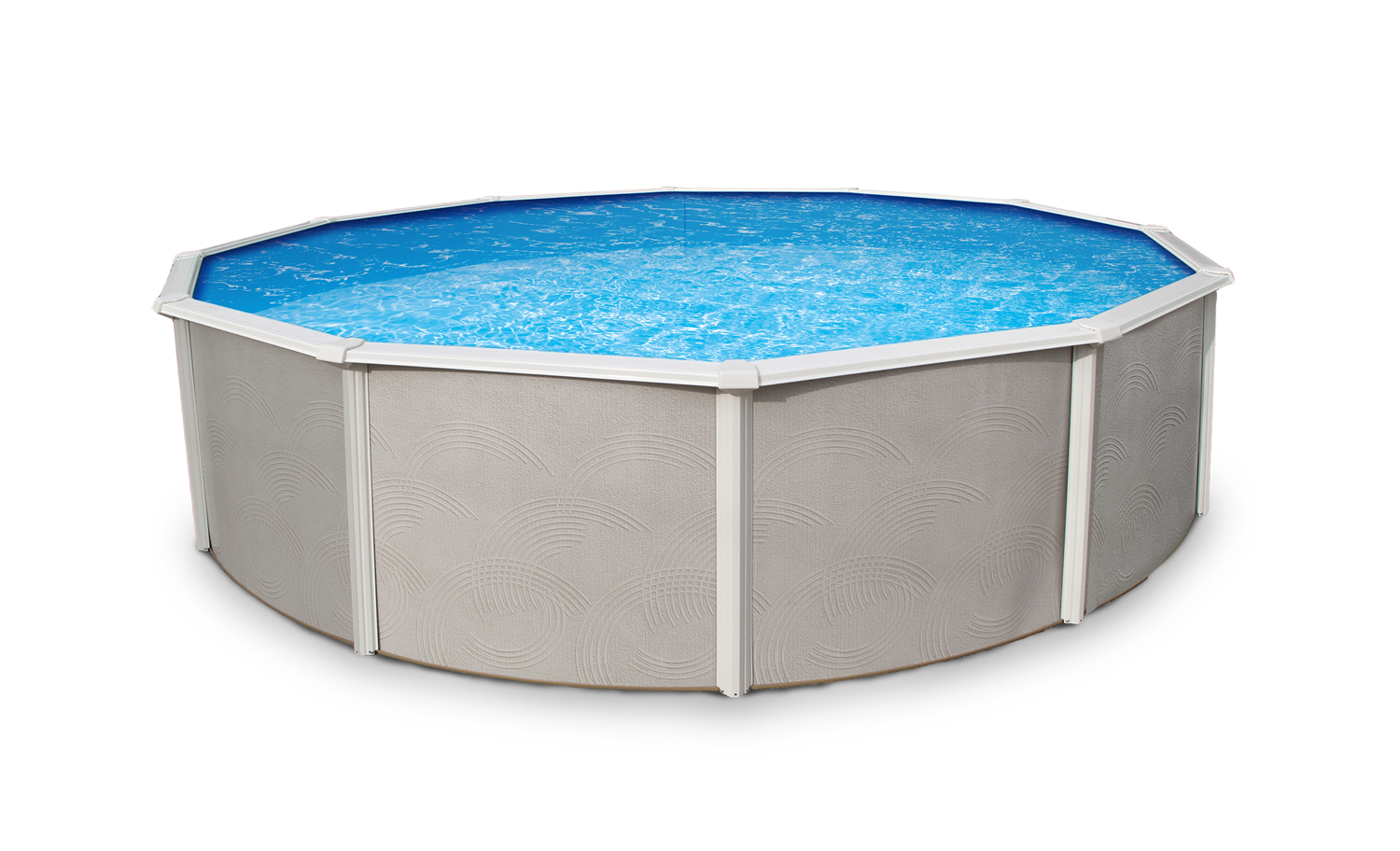 24 39 round above ground pools royal swimming pools for Pool products