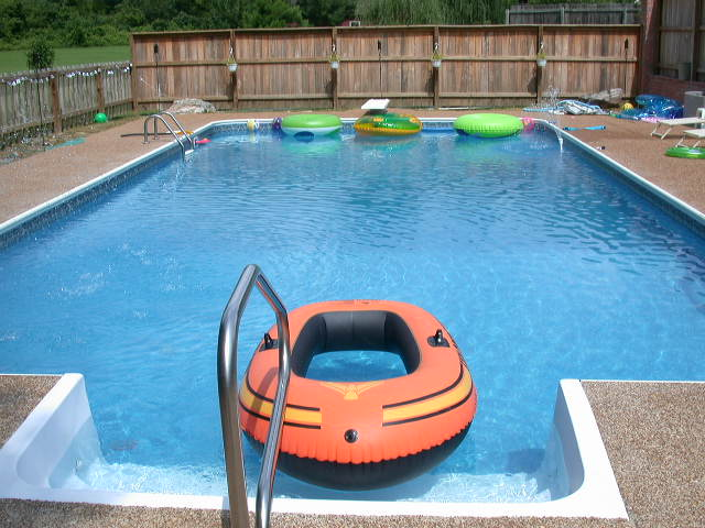 Rectangle inground swimming pool kits royal swimming pools for Inground swimming pool kits