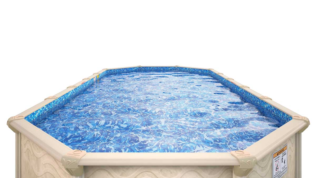 Image of: 8 X 12 Oval 52 Embassy Century By H I I Mfg Of Doughboy Royal Swimming Pools