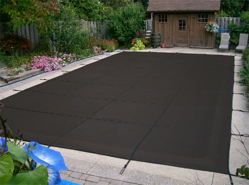 30 Yr Mesh Safety Cover For 16 X 34 Rectangle Pool