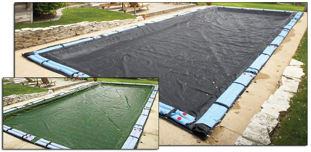 35 39 X 55 39 Rugged Mesh Cover For 30 39 X 50 39 Rectangle Pool