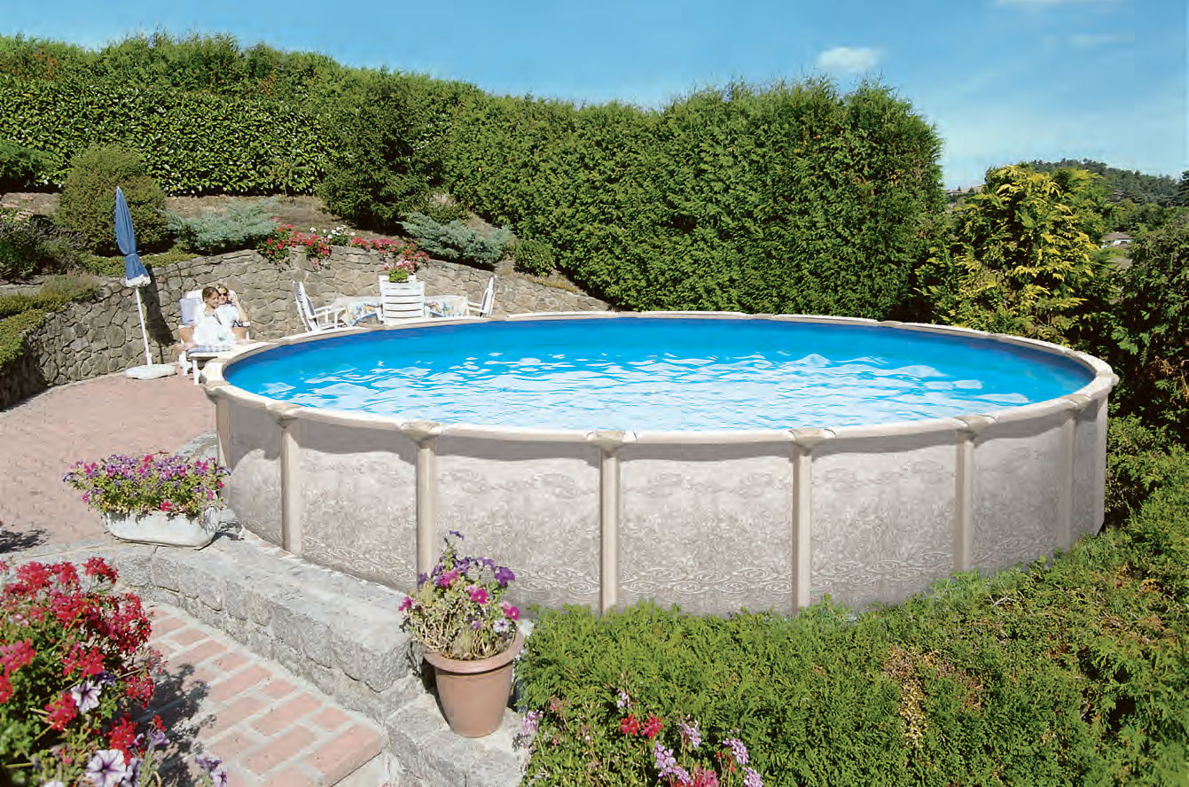 Saltwater Magnus Above Ground Pool Royal Swimming Pools