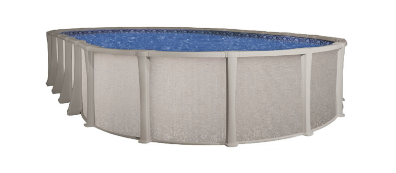 15 39 x 26 39 oval 54 matrix royal swimming pools for Above ground pool kits