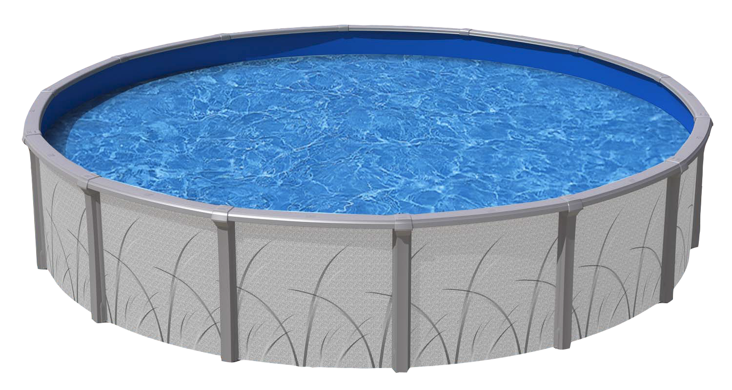 24 39 round above ground pools royal swimming pools for Round swimming pools above ground