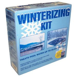 Chlorine Winterizing Chemical Kit for 30,000 Gallons