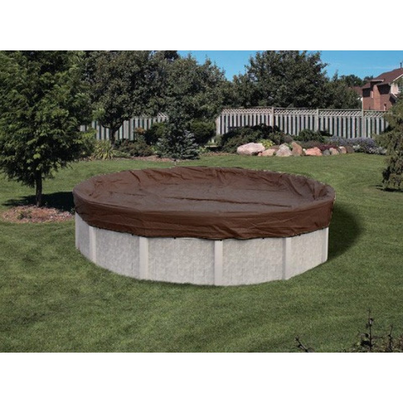 20 39 x 36 39 pooltux cover for 16 39 x 32 39 oval pool 25 yr for Lazy l shaped pool covers