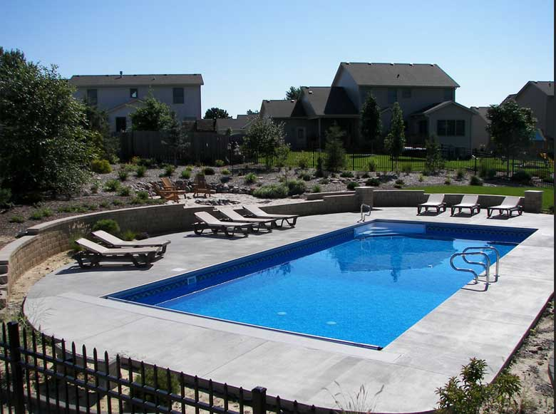 in ground pools rectangle. Custom Rectangle Inground Pool Kits In Ground Pools P