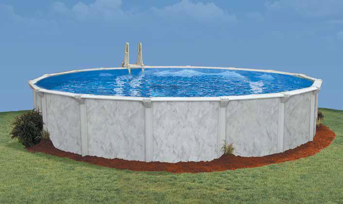 Sea S Round Above Ground Pool Render