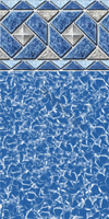 Rolling Wave Above Ground Pool Liner