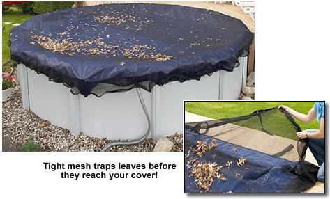 Leaf Net Above Ground Pool Covers Royal Swimming Pools