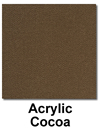 Acrylic - Cocoa Color Swatch