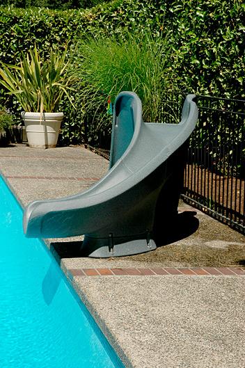 cyclone inground swimming pool slide