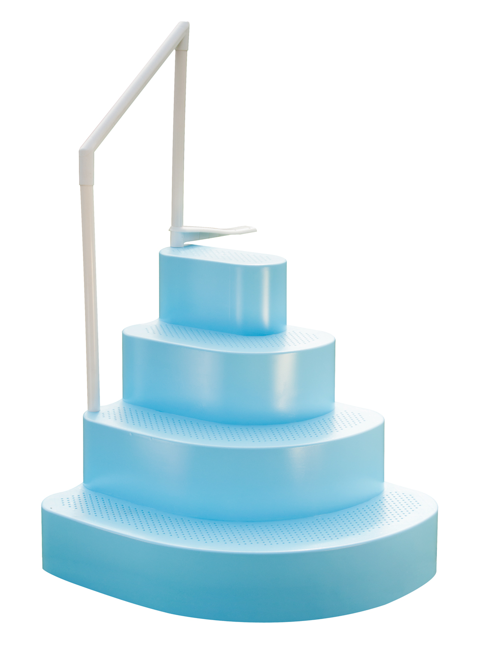 blue wedding cake step - Above Ground Pool Steps For Decks