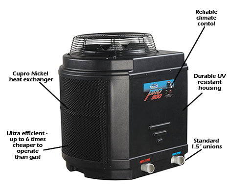 Aqua Pro Heat Pump For Above Ground Pools