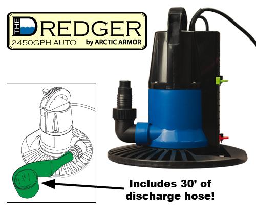 Dredger Pool Cover Pumps