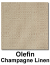 Olefin Champagne Linen Color Swatch
