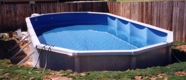 Above ground pool installation and construction information for In ground swimming pool contractors