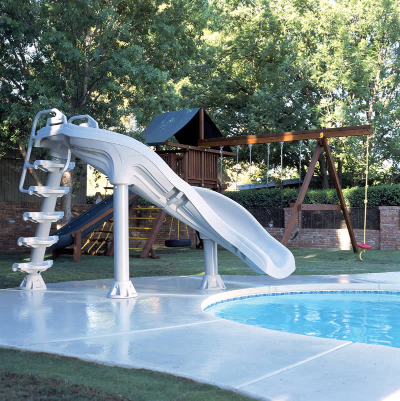 X Stream Inground Swimming Pool Slide