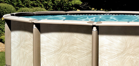 Easy to Install Above Ground Pool Kits from Royal Swimming Pools