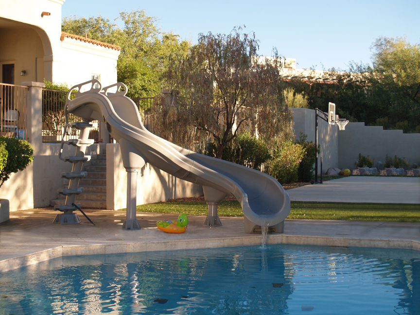 Adrenaline Inground Swimming Pool Slide