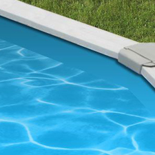 Our Deluxe Kit Includes a Blue Pool Liner