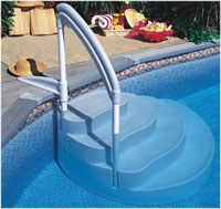 Inground and Above Ground Pool Ladders and Steps